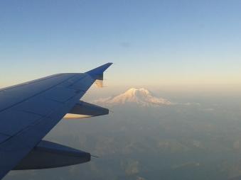Sunrise over Rainier
